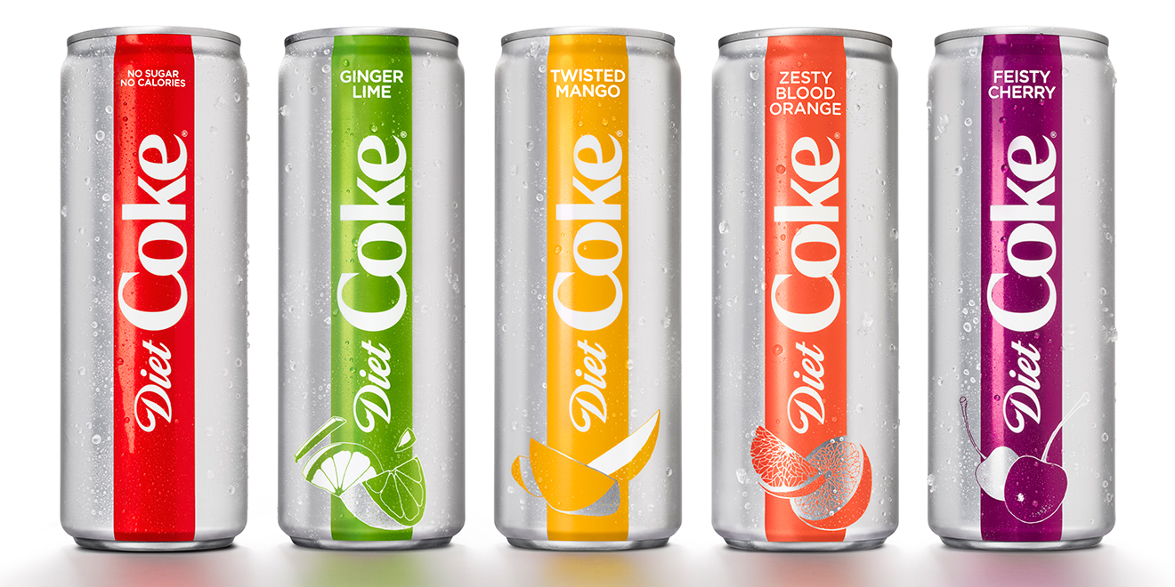 Can Diet Coke's New Skinny, Rainbow-Colored Cans Attract the Millennials It Covets?